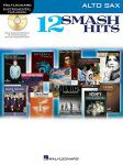 12 Smash Hits for Alto Sax Book/CD