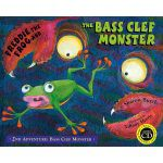 Freddie the Frog and the Bass Clef Monster Flash Cards