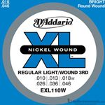 D'Addario Strings Guitar 3rd Wound Light EXL110W