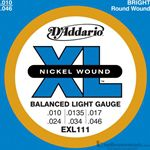 D'Addario Strings Guitar Blues/Jazz EXL115