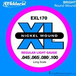 D'Addario Strings Bass EXL170