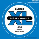 D'Addario Strings Bass Nickel Wound XLB130SL