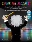 Color Me Mozart! 25 Great Composers Book/CD Reproducible
