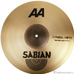 "Sabian 2180772B 18"" Raw Bell Crash AA Series Cymbal"