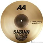 "Sabian 2200772B 20"" Raw Bell Crash AA Series Cymbal"