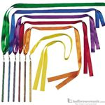 "Rhythm Band Ribbon Wands 36"" Set of 6"