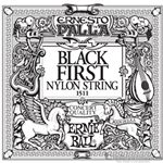 Ernie Ball String Guitar 1st Nylon Black 1511