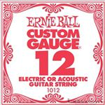 Ernie Ball String Guitar .012 Steel 1012