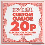 Ernie Ball String Guitar .020 Plain Steel 1020ST