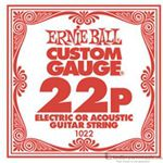 Ernie Ball String Guitar .022 Plain Steel 1022ST