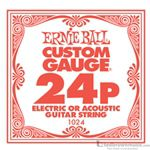 Ernie Ball String Guitar .024 Plain Steel 1024