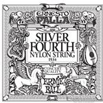 Ernie Ball String Guitar 4th Nylon Silver 1534