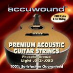 Accuwound Strings Guitar  Light AC012AL