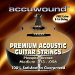 Accuwound Strings Guitar Medium AC013AM