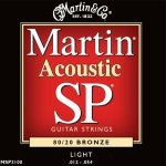 Martin Strings Guitar SP Light MSP3100