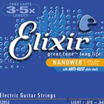 Elixer Strings Guitar Nano Light 12052