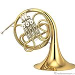 Yamaha YHR314II Student Series Single F French Horn