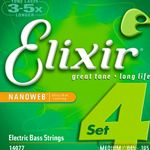 Elixer Strings Bass Medium Long 14077