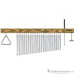 TreeWorks Bar Chimes Aluminum 23 Bar Multi-Tree TRE24
