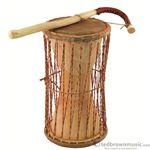 "Overseas Connection G-863A Ghana Talking Drum 15"" x 7.5"""