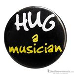 "Music Treasures Button ""Hug A Musician"" 721145"