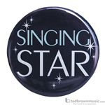 "Music Treasures Button ""Singing Star"" 721150"