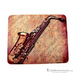 Aim Gifts Mouse Pad Saxophone Sheet Music 40031