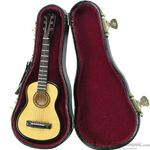 Music Treasures Miniature Acoustic Guitar with Case 4000080
