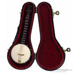 Music Treasures Miniature Banjo with Case 400071