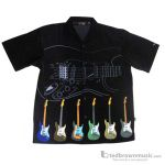 Aim Gifts 25811 Button Down Large Guitar Shirt