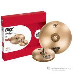 "Sabian 45002X 14"" Hi Hats & 18"" Crash Ride B8X Series Cymbal Pack"