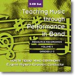 Teaching Music Through Performance In Band #5 CD Set Grades 2-3
