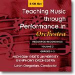 Teaching Music Through Performance In Orch #2 CD Set Grades 1-3