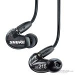 Shure SE215-K Professional In Ear Monitor Earphones