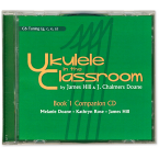 Ukulele in the Classroom Book 1 CD