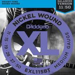 D'Addario Strings Guitar Balanced Tension Medium EXL115BT