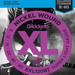 D'Addario Strings Guitar Balanced Tension EXL120BT