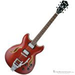 Ibanez AS73TTCR Hollow Body Artcore Series Acoustic-Electric Guitar with Bigsby Type Tremolo