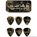 Dunlop Pick Guitar Jimi Hendrix  West Coast 6 Pack JHPT10H