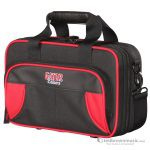 Gator GL-CLARINET-RK Lightweight Spirit Series Red & Black Clarinet Case