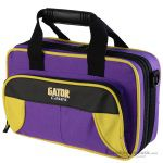 Gator GL-CLARINET-YP Lightweight Spirit Series Yellow & Purple Clarinet Case