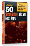 50 Shred Licks You Must Know DVD