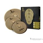 Zildjian L80 Low Volume LV348 HiHat Crash Ride Cymbal Set