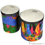 Remo Bongos Kids Rainforest Print KD-5400-01
