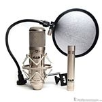 CAD GXL2200 Studio Condenser Recording Microphone Pack