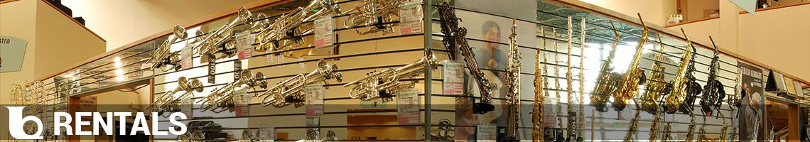 Instrument Rentals at Ted Brown Music