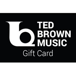 Ted Brown Music Gift Card $50.00