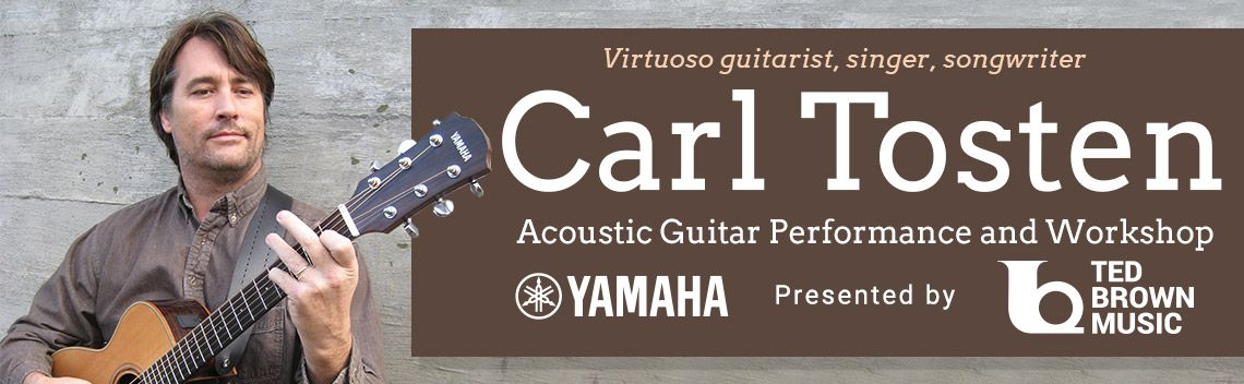 Yamaha and Ted Brown Present Carl Tosten