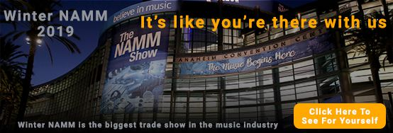 Follow Ted Brown Music at the 2019 Winter NAMM Show
