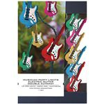 Hal Leonard Electric Guitar Double Cutaway Party Lights